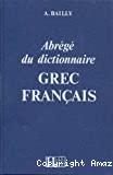 Abrégé du dictionnaire grec français