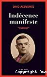 Indécence manifeste