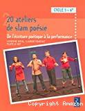 20 ateliers de slam poésie